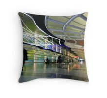 The People Mover Corridor Throw Pillow