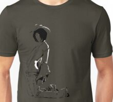 cowgirl sitting Unisex T-Shirt