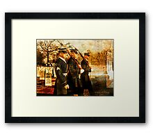 Tribute to the Fallen Framed Print