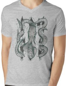 Der Krake Mens V-Neck T-Shirt