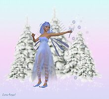 January fairy by LoneAngel