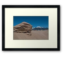 Sand Geology Framed Print