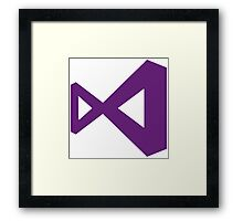 Visual Studio Framed Print