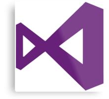 Visual Studio Metal Print