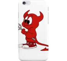 BSD daemon iPhone Case/Skin