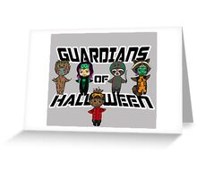 Guardians of halloween Greeting Card