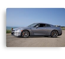 2014 Nissan GTR Sports Coupe Canvas Print