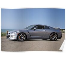 2014 Nissan GTR Sports Coupe Poster
