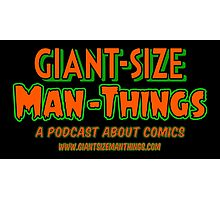 Giant-Size Man-Things: The T-shirt (Neon) Photographic Print