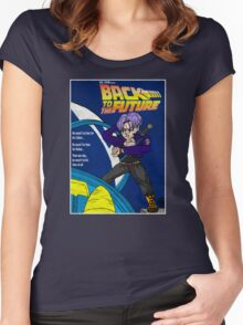 Back From The Future Women's Fitted Scoop T-Shirt