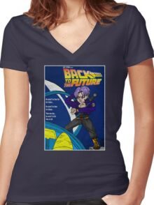 Back From The Future Women's Fitted V-Neck T-Shirt