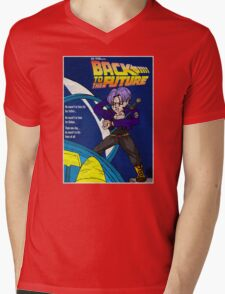 Back From The Future Mens V-Neck T-Shirt