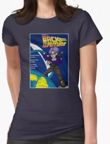 Back From The Future Womens Fitted T-Shirt