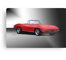 1967 Corvette Convertible Metal Print