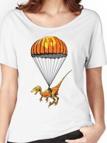 Parachuting Raptor Women's Relaxed Fit T-Shirt