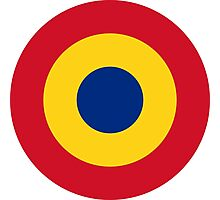 Romanian Air Force - Roundel Photographic Print