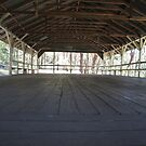 The inside of a historic outdoor dance hall, Spring Bluff, Toowoomba, Qld Australia by Marilyn Baldey