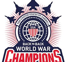 USA: World War Champs by Sevensus