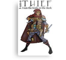 Dungeons and Dragons - the thief Metal Print