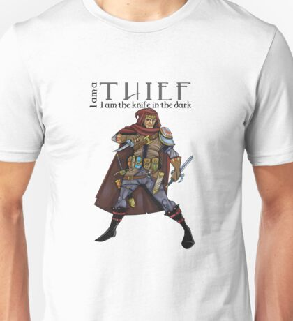 Dungeons and Dragons - the thief Unisex T-Shirt
