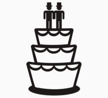 Gay wedding cake by Designzz
