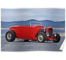 1932 Ford 'Old School' Roadster Poster