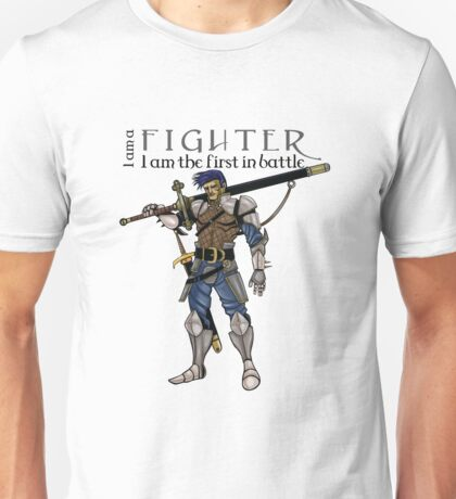 The fighter, dungeons and dragons Unisex T-Shirt