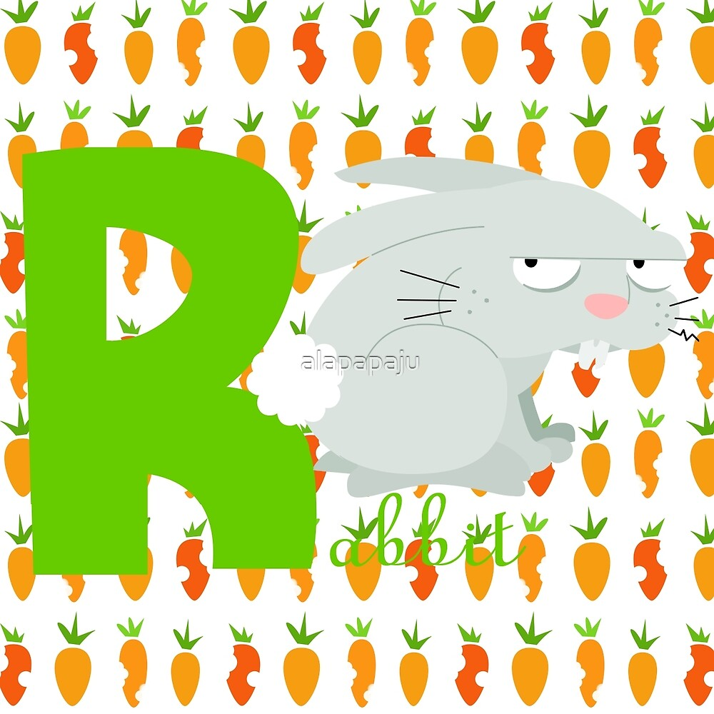 r for rabbit by alapapaju