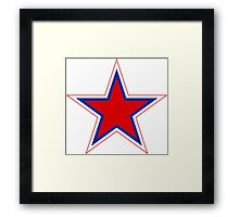 Russian Air Force - Roundel Framed Print