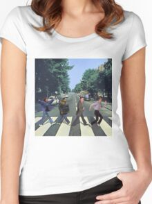 Abbey Road Women's Fitted Scoop T-Shirt