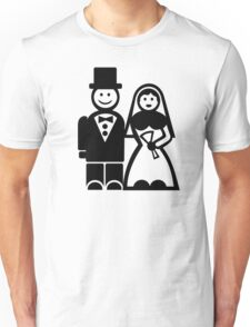 Wedding couple Unisex T-Shirt