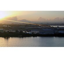 Sunbeam on San Juan Photographic Print