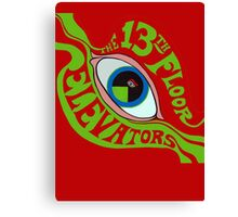 13th Floor Elevators T-Shirt Canvas Print
