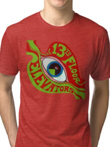 13th Floor Elevators T-Shirt Tri-blend T-Shirt