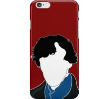 Who am I? The science of deduction iPhone Case/Skin