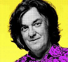 Top Gear Inspired Pop Art James May by ivanoski