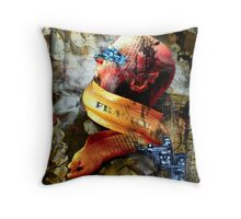 Eel Song Throw Pillow
