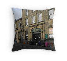 Fleetwood Market. Throw Pillow