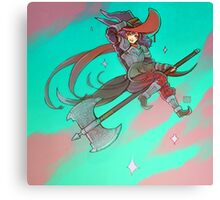 Axe Witch Canvas Print