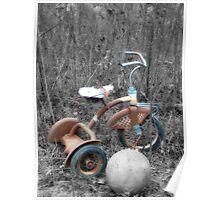 """""""Rusting Memories"""" Poster"""