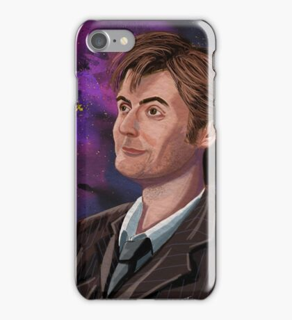 David Tennant the 10th Doctor iPhone Case/Skin