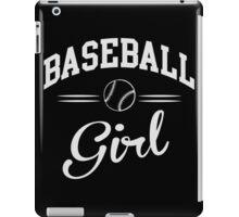 Baseball Girl iPad Case/Skin