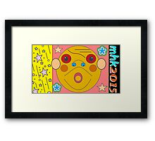 just screwin around threading the needle waiting for gadot or the mecurial nature of moment and momentum 3 Framed Print