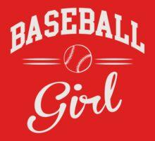 Baseball Girl One Piece - Short Sleeve