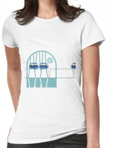 Lake Buena Vista Peoplemover Womens Fitted T-Shirt