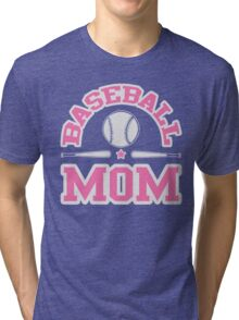 Baseball Mom Tri-blend T-Shirt