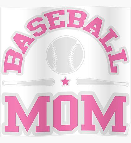 Baseball Mom Poster