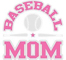 Baseball Mom Photographic Print