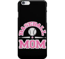 Baseball Mom iPhone Case/Skin