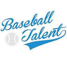 Baseball Talent Photographic Print